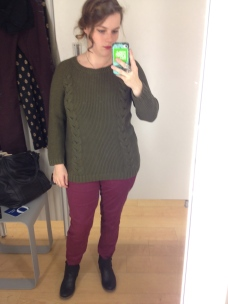 Cynthia Rowley sweater from Marshalls