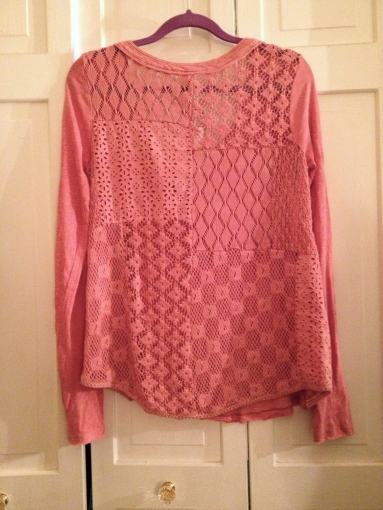 Free People Patches of Lace Henley from Marshalls