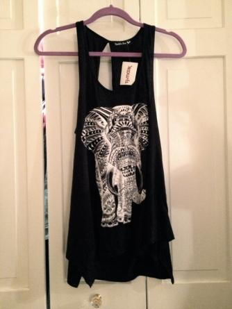 Elephant skirt from Marshalls