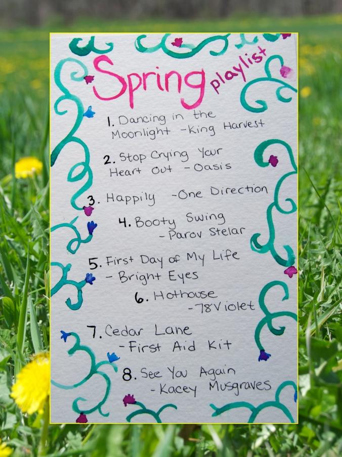 Spring Blog Playlist Collage2