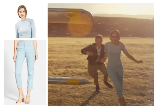 Wildest Dreams blue outfit
